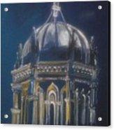 Nights Of Lights Presbyterian Memorial Church St Augustine Florida  Acrylic Print