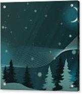 Nighttime Acrylic Print
