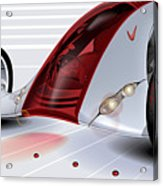 Nike Concept Car Ai Acrylic Print by Brian Gibbs