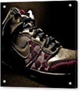 Nike Dunks Acrylic Print by Allison Badely