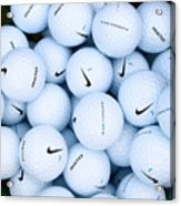 Nike Golf Balls Acrylic Print