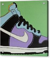 Nike Shoe Acrylic Print by Grant  Swinney