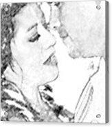 Nikki And Kris Passion Acrylic Print