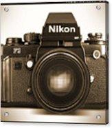 Nikon F3 Hp Acrylic Print