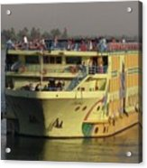 Nile Cruise Ship Acrylic Print