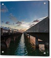 Niles Summer Sunset Acrylic Print