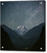 Nilgiri South (6839 M) Acrylic Print by Anton Jankovoy