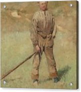 Nils Kreuger, 1858-1930, Young Boy, Scene From Holland. Executed In July-august 1883 Acrylic Print