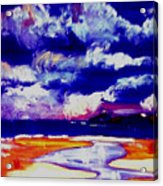Nimbus Clouds Over Mumbles Acrylic Print