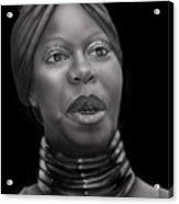 Nina Simone-revolution Acrylic Print