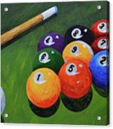 Nine Ball Acrylic Print