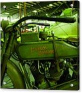 Nineteen Eighteen Harley Davidson Acrylic Print