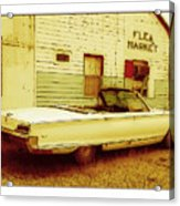 Nineteen Fifty-seven Ford Fairlane Acrylic Print