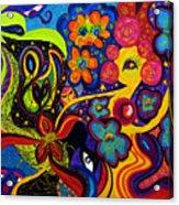 Joyful Acrylic Print
