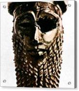 Nineveh: Bronze Head Acrylic Print