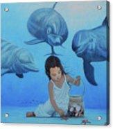 Ninia Del Mar Acrylic Print