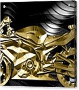 Ninja Motorcycle Collection Acrylic Print