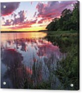 The Nip Sunset Acrylic Print