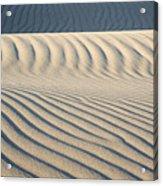Nipomo Dunes Acrylic Print by Ron Hoggard
