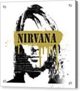 Nirvana Art Acrylic Print