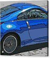 Nissan Z Car Acrylic Print by Samuel Sheats