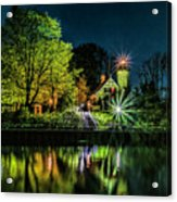 Nite At White River Light Acrylic Print