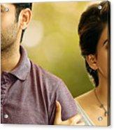 Nithin Samantha A Aa Telugu Movie Acrylic Print