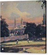 Nitra - Nyitra Slovakia, Cca 1900 Acrylic Print
