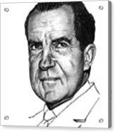 Nixon Acrylic Print