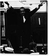 Nixon Presidency.   Former Us President Acrylic Print by Everett