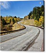 Nm Hwy 64 In The San Juan Mountains Acrylic Print