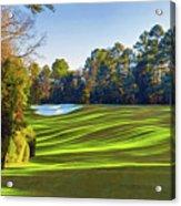 No. 5 Magnolia 455 Yards  Par 4 Acrylic Print