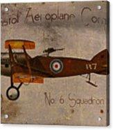 No. 6 Squadron Bristol Aeroplane Company Acrylic Print