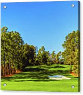 No. 8 Yellow - Jasmine 570 Yards Par 5 Acrylic Print