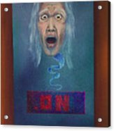 No Entry Into Heaven Acrylic Print
