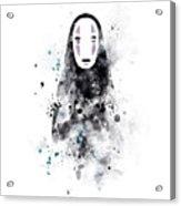 No Face Acrylic Print