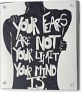 No Fears, No Limits Acrylic Print
