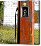No Gas Today Acrylic Print