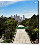 No More Cars In Los Angeles. Acrylic Print