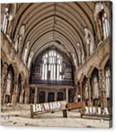 No Sanctuary Acrylic Print