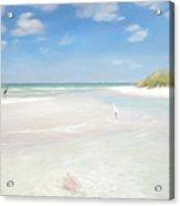 No. Siesta Key, Big Pass, So. Lido Beach Acrylic Print
