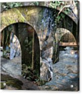 No Simple Highway Acrylic Print by Leslie Kell