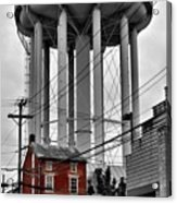 No Turn On Red, Frederick, Maryland, 2015 Acrylic Print