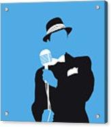 No059 My Sinatra Minimal Music Poster Acrylic Print