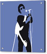 No068 My Lou Reed Minimal Music Poster Acrylic Print
