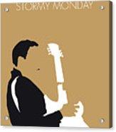 No070 My Tbone Walker Minimal Music Poster Acrylic Print