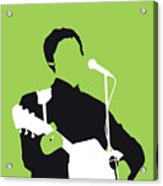 No076 MY PAUL MCCARTNEY Minimal Music poster Acrylic Print