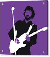 No141 My Eric Clapton Minimal Music Poster Acrylic Print
