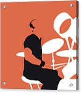 No163 My Phil Collins Minimal Music Poster Acrylic Print