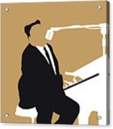 No190 My Fats Domino Minimal Music Poster Acrylic Print